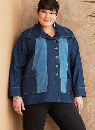 Patron de vêtement de dessus - Butterick 6721