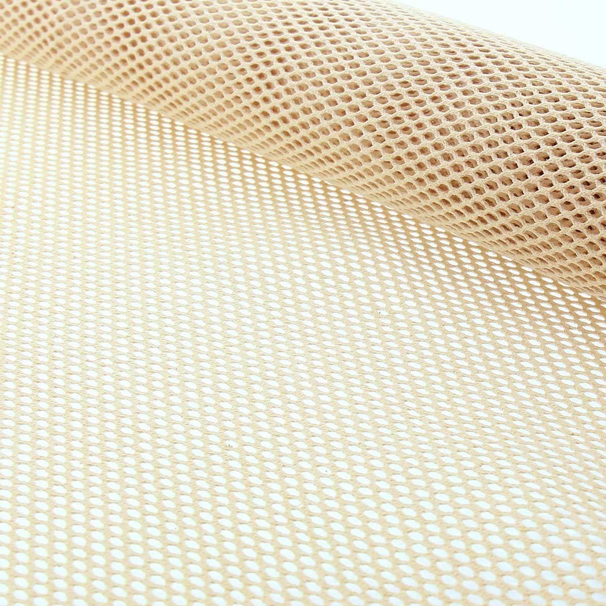Tissu filet en coton bio - Naturel