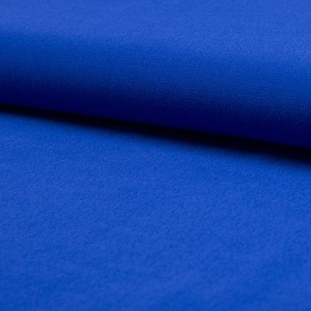 Tissu crêpe de viscose - Bleu roy