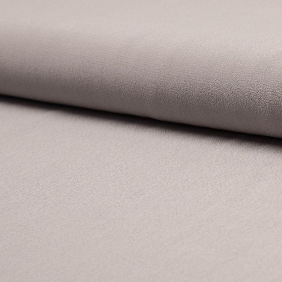 Tissu crêpe de viscose - Gris clair