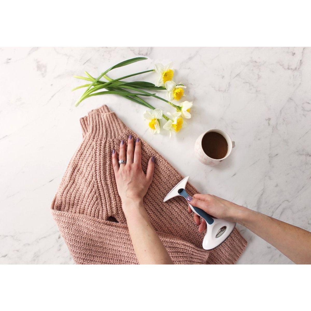 Brosse rasoir anti-peluches 2 en 1 Gleener