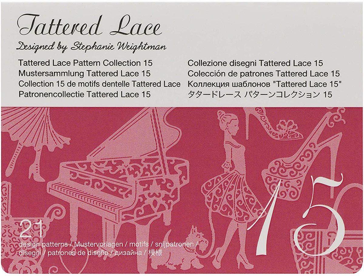 Collection n° 15 de motifs dentelle Tattered Lace ScanNCut