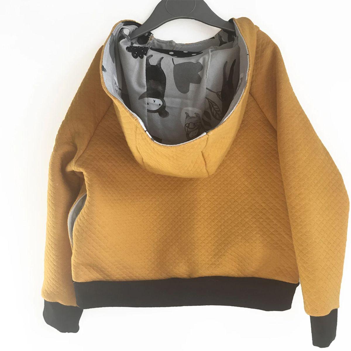 Patron de sweatshirt capuche Charlie - Ikatee