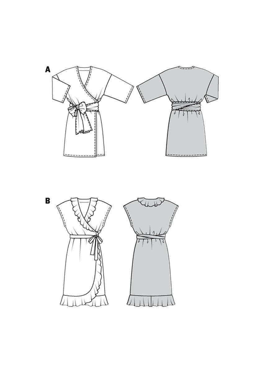 Patron de robe - Burda 6207