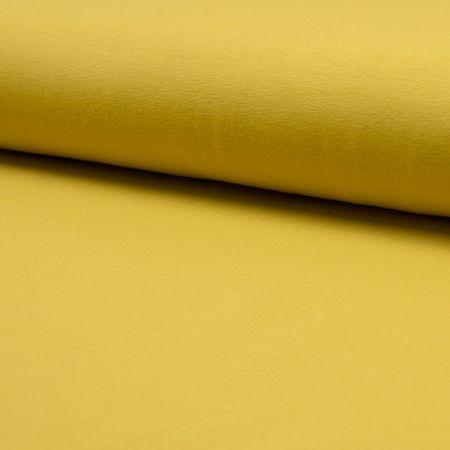 Tissu jersey coton - Curry