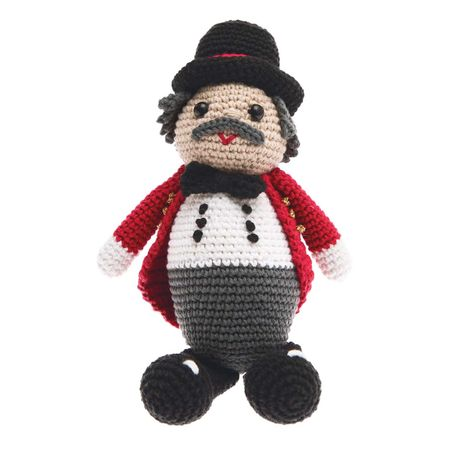 Kit crochet amigurumi - Le directeur du cirque
