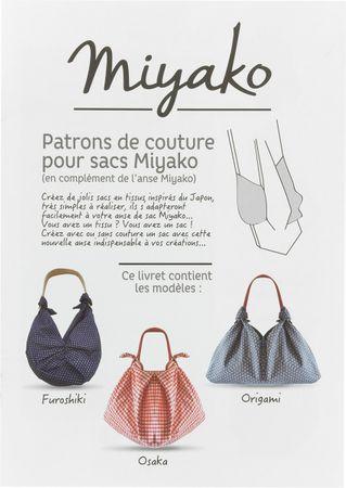 Livret patrons de sacs avec les anses Miyako
