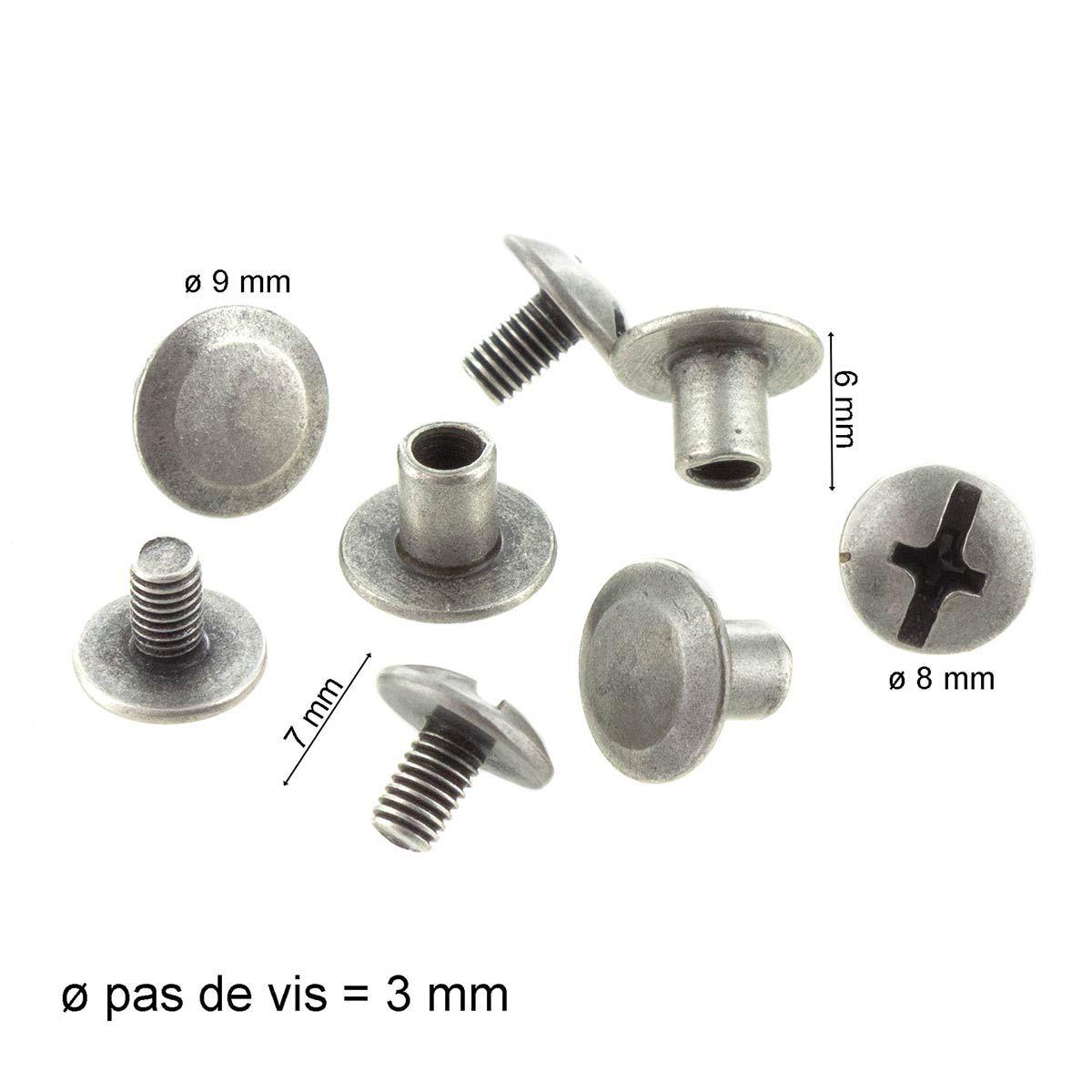 2 lanières tote-bag en cuir - 80 x 2 cm - Argent