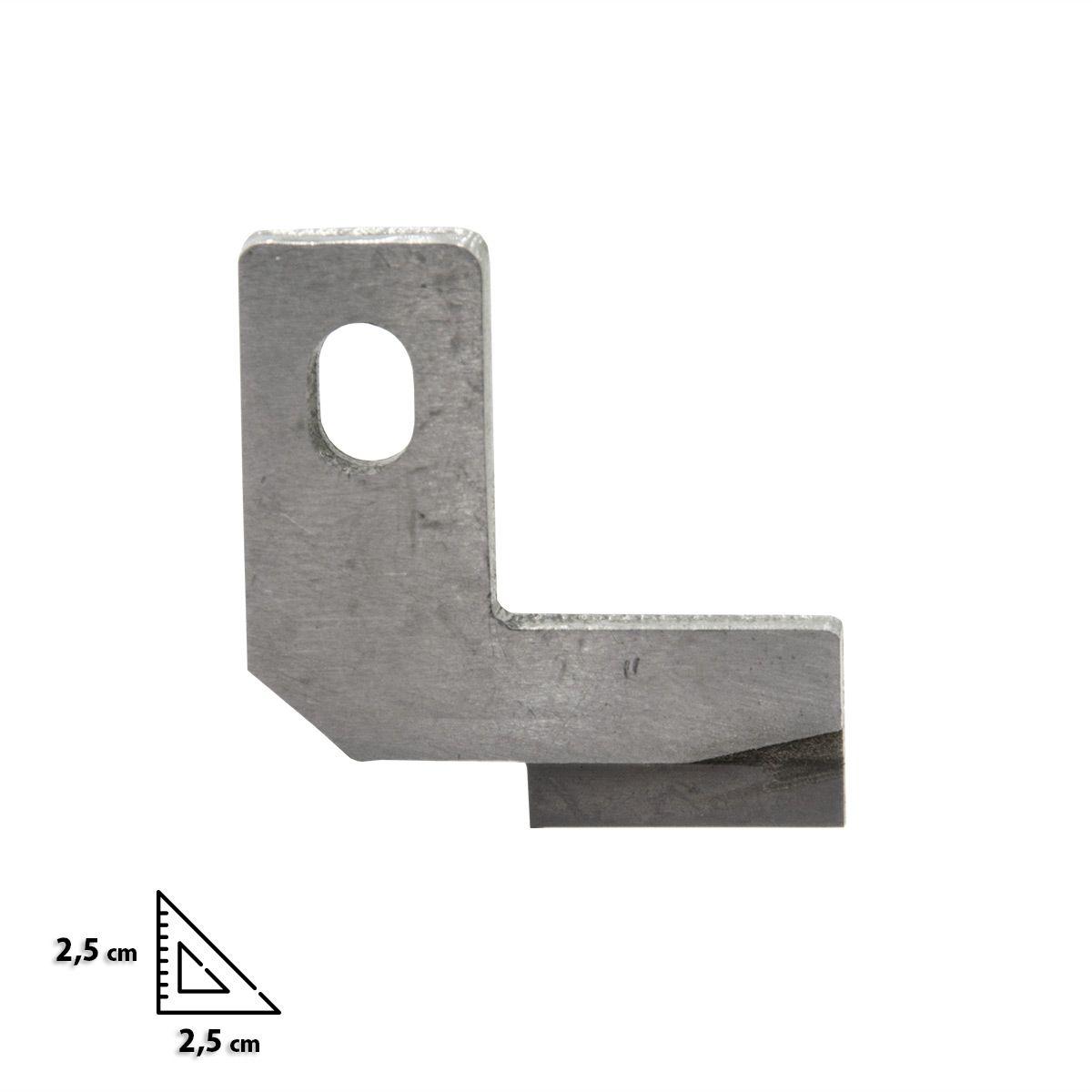 Couteau inférieur pour surjeteuses Bernina L450 et L460
