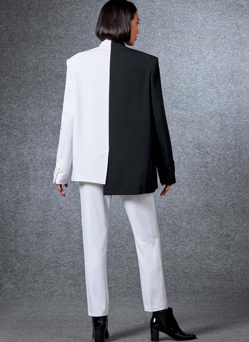 Patron de veste et pantalon - Vogue 1687