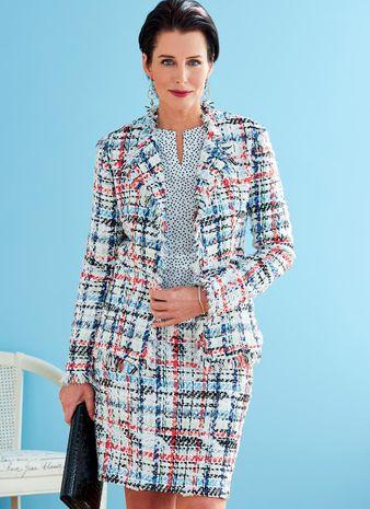 Patron de veste, robe, haut et jupe - Butterick 6738