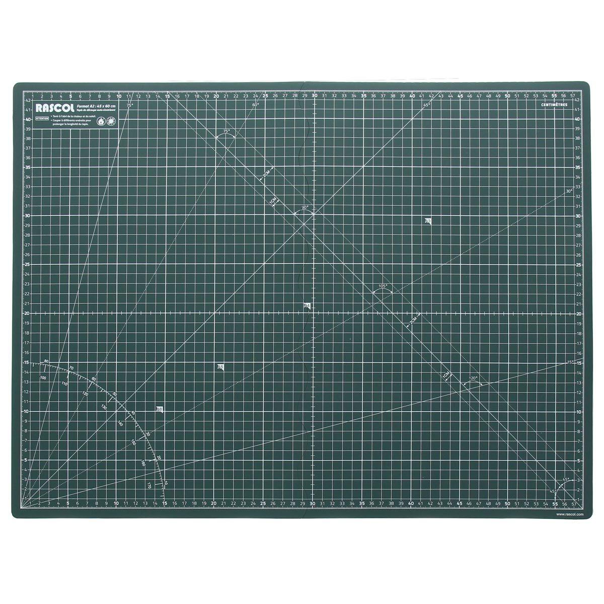 Tapis de découpe pliable Rascol 45 x 60 cm