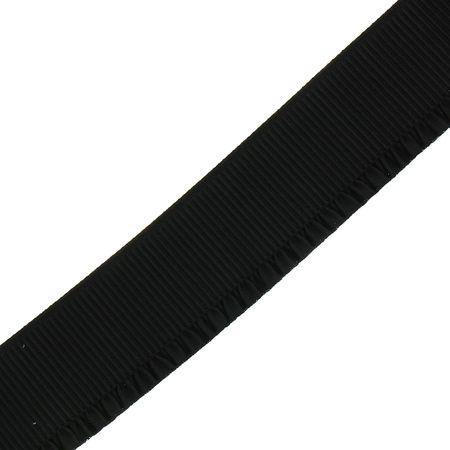 Élastique bord côte pour jupe - 60 mm - Noir