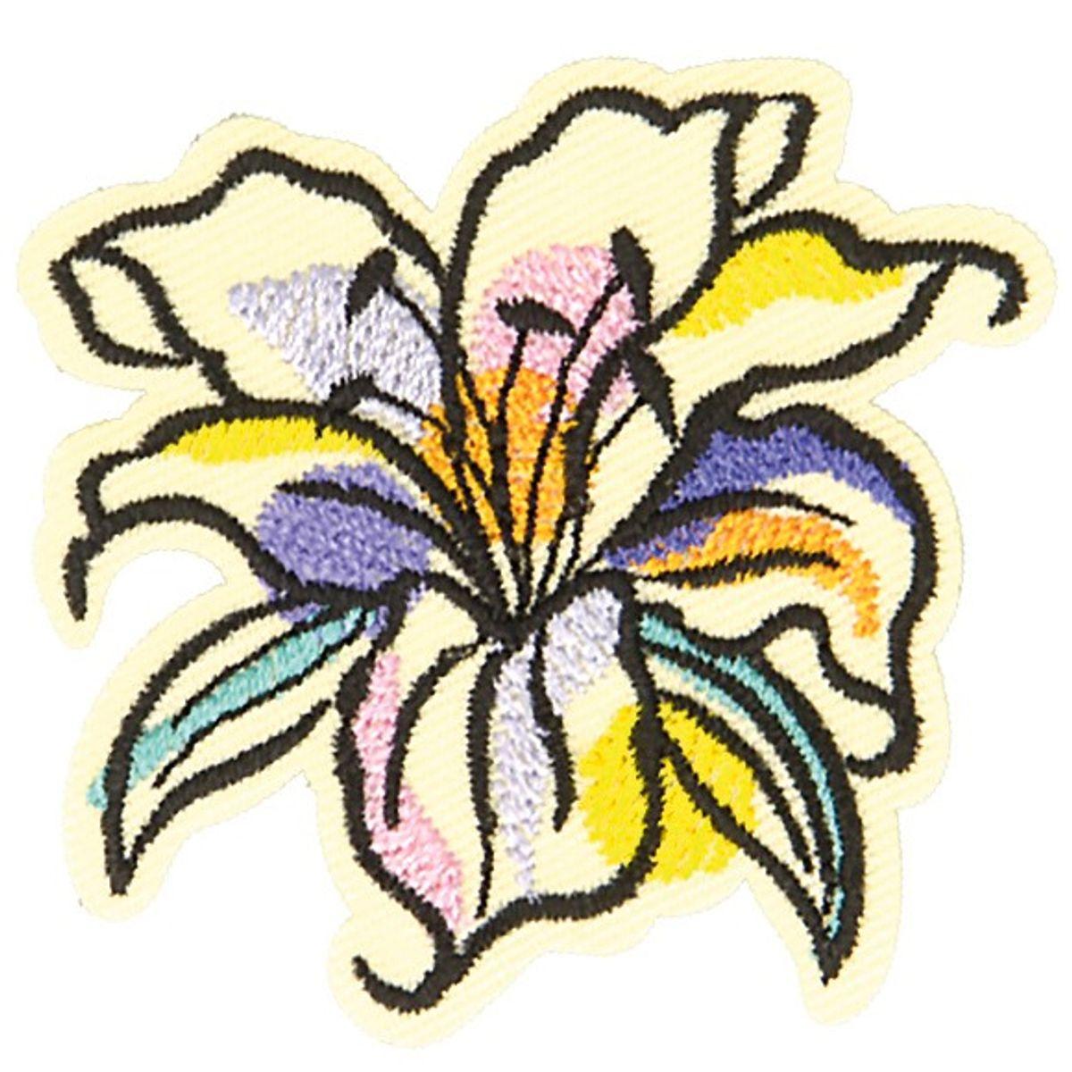 Motif fleur de lys