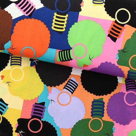Tissu coton Alexander Henry - Electra mosaic