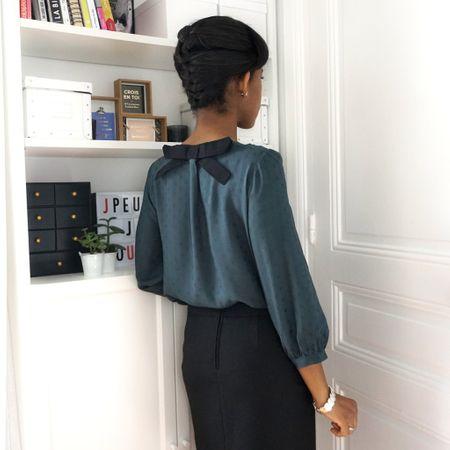 Patron de blouse et robe Elena - Les Lubies de Cadia