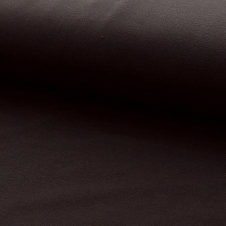 Tissu jersey coton BIO - Marron