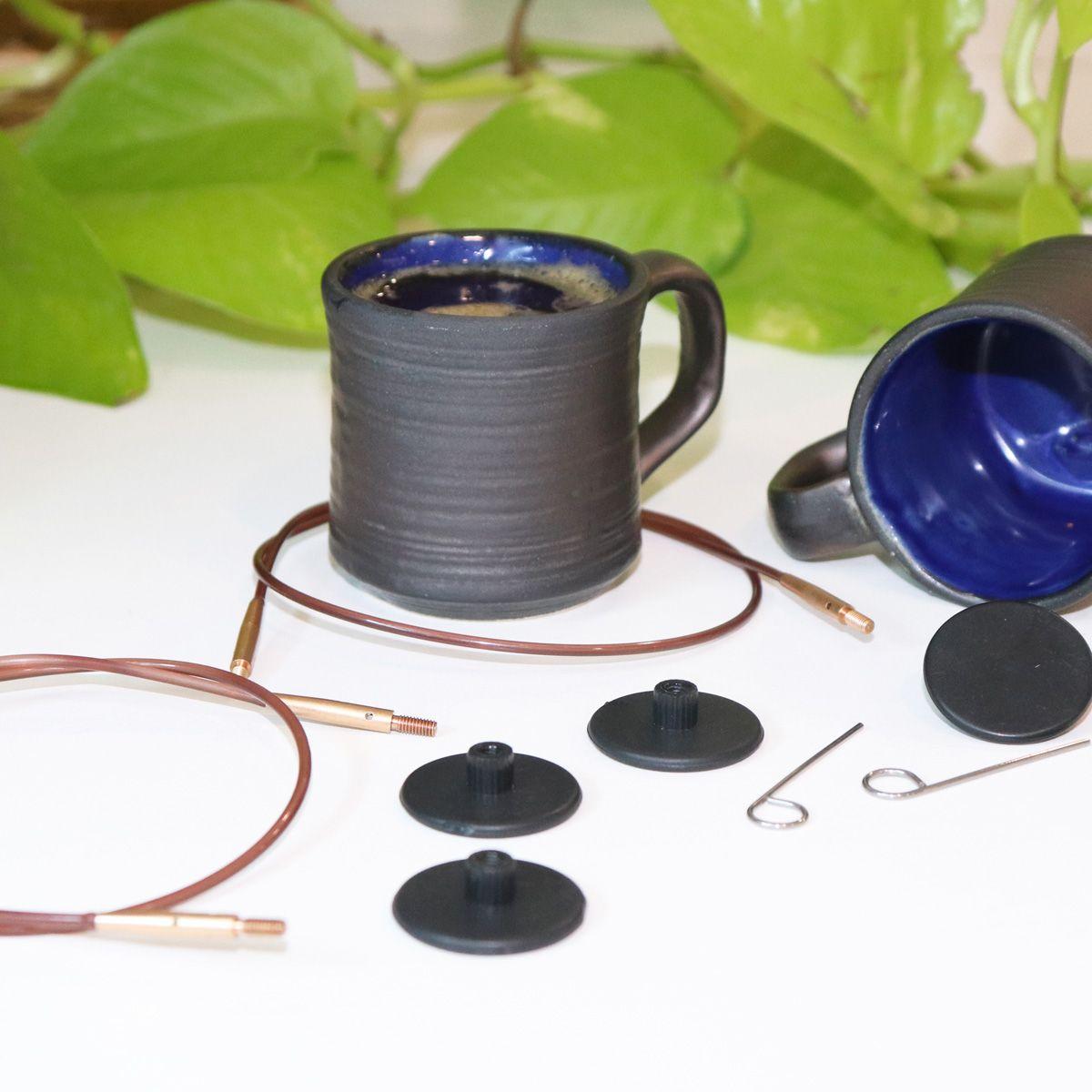 Coffret aiguilles à tricoter circulaires KnitPro Knit & Sip