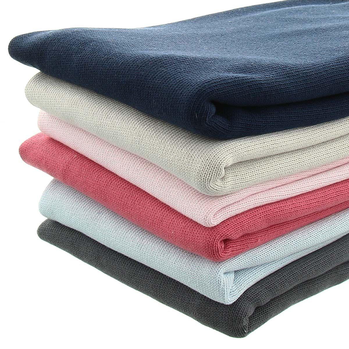 Tissu maille tricotée jersey endroit - Céladon