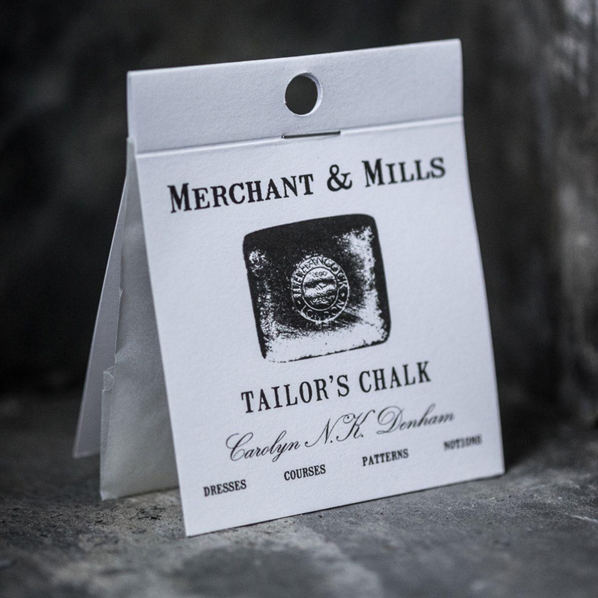 Craie tailleur blanche Merchant & Mills