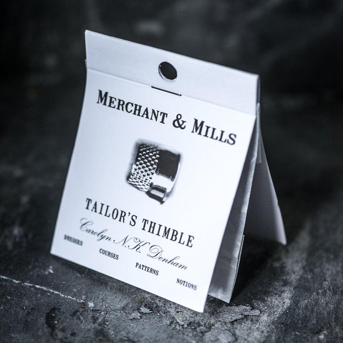 Dé à coudre ouvert de tailleur Merchant & Mills