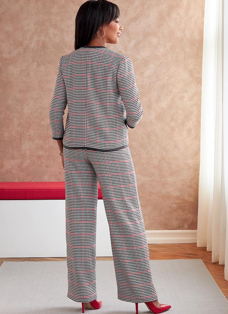 Patron de veste, robe, haut et ceinture - Butterick 6795