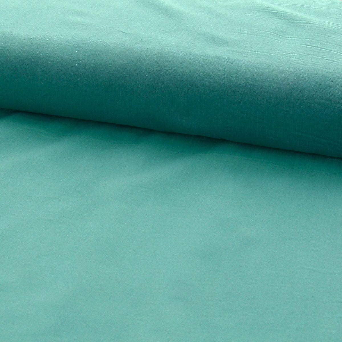 Tissu voile de coton - Menthe