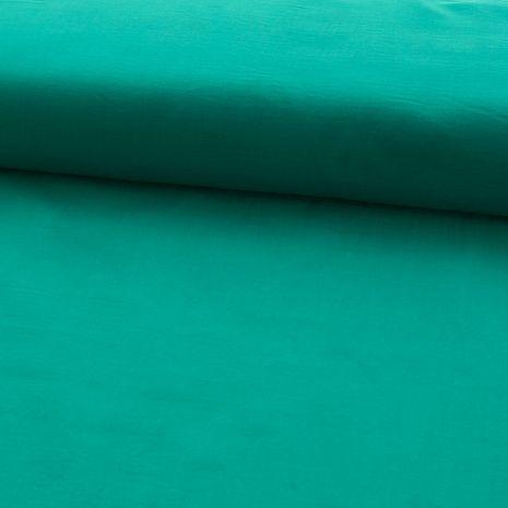 Tissu voile de coton - Emeraude