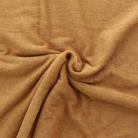 Tissu micro éponge de bambou - Camel