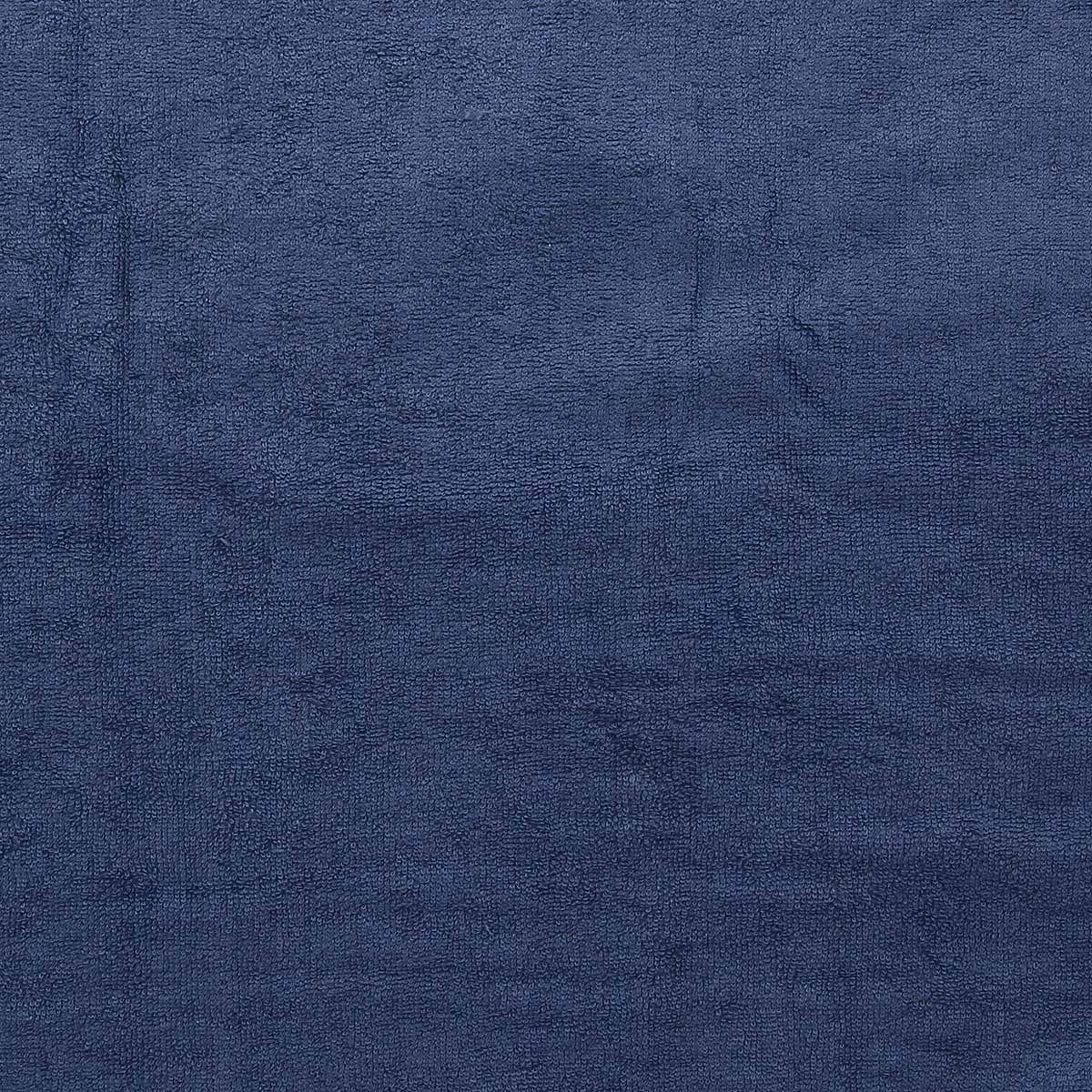 Tissu micro éponge de bambou - Indigo