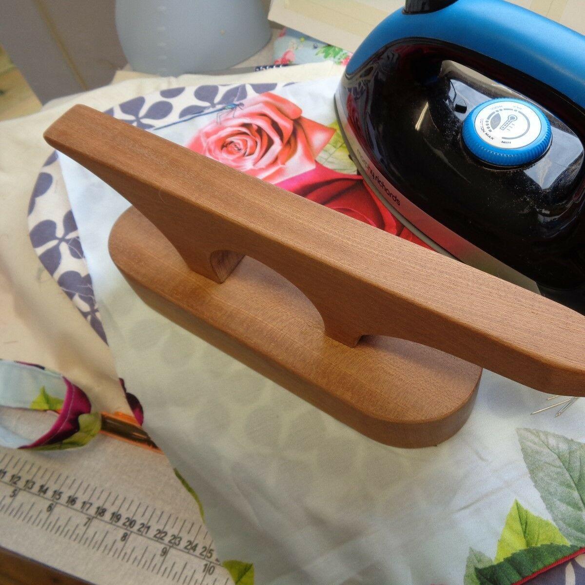 Presse en bois pour plis parfaits