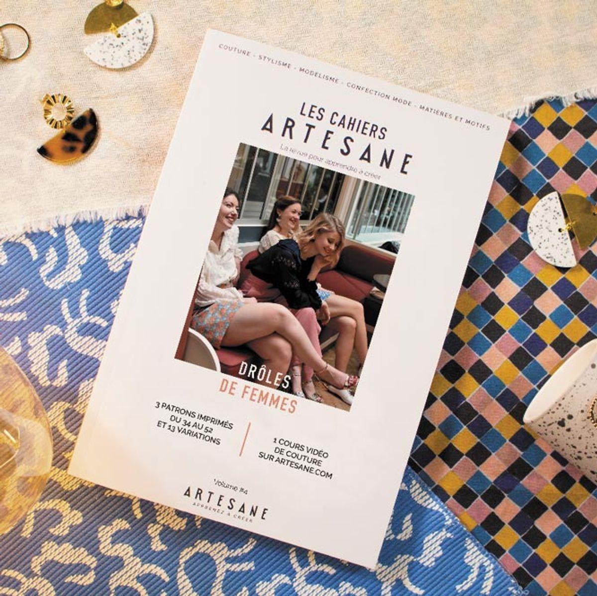 Les cahiers Artesane n° 4 - Drôles de femmes