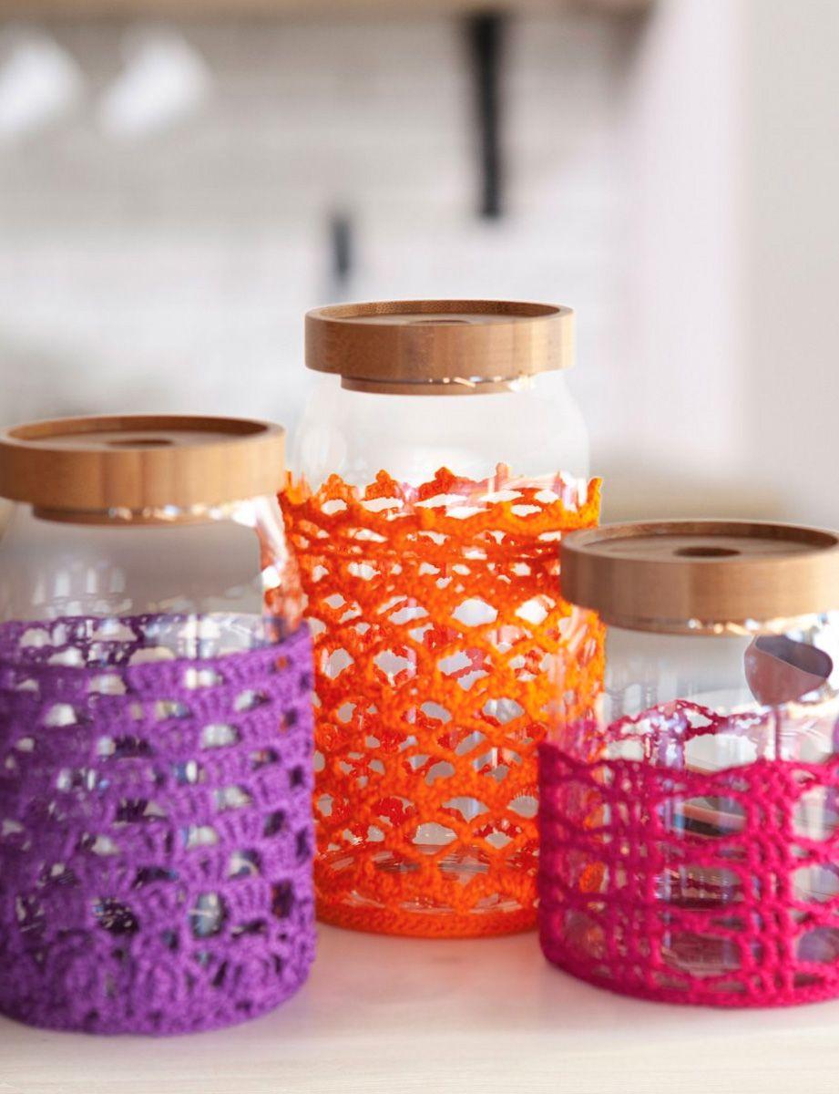 Modèle de décoration de bocaux
