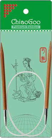 Aiguilles circulaires fixes bambou ChiaoGoo