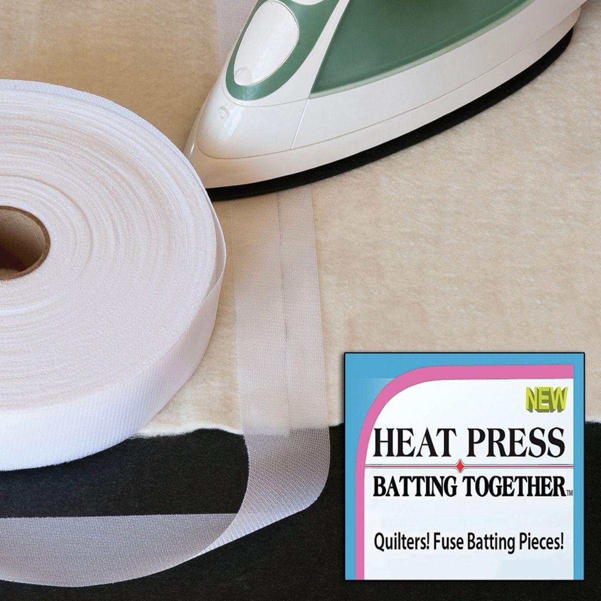 Ruban thermocollant Heat Press Batting Together