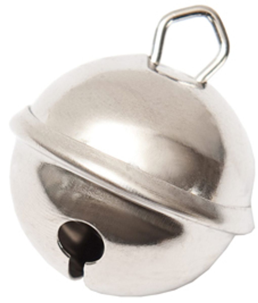 Grelot argent - 29 mm