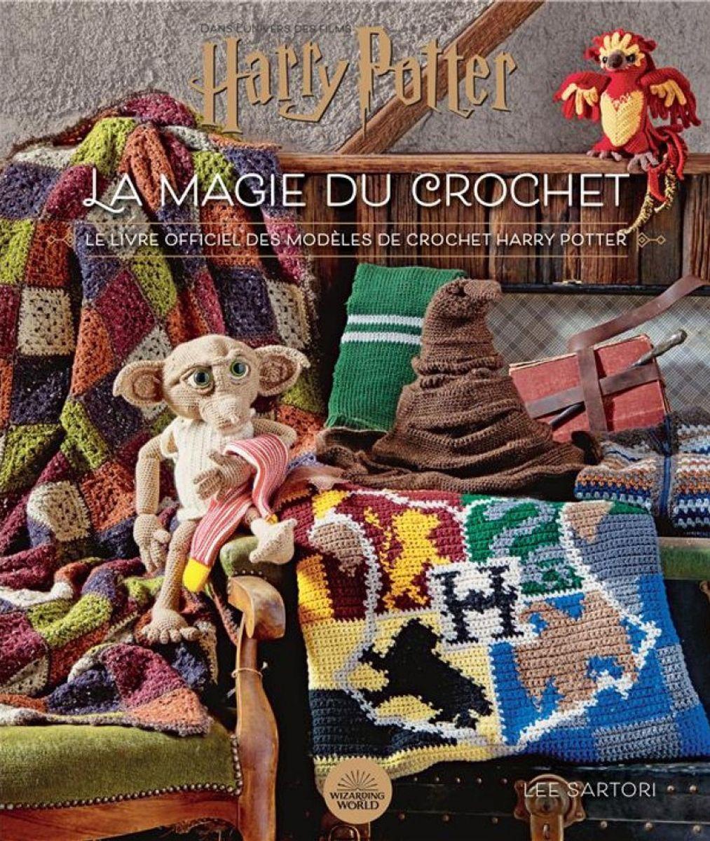 Livre Harry Potter : la magie du crochet