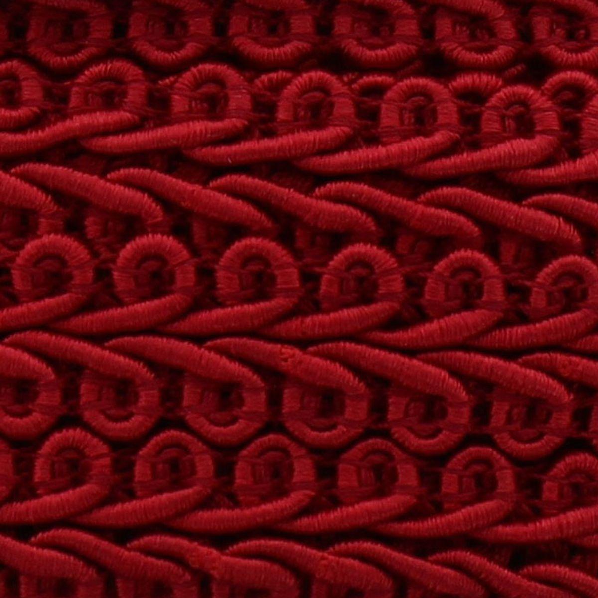 Galon épi style Chanel - Rouge hermès
