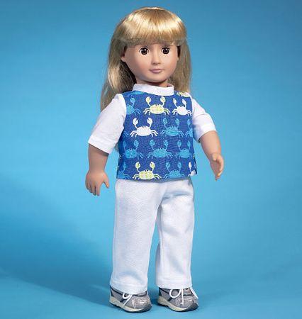Patron de vêtements pour poupée - McCall's 7106