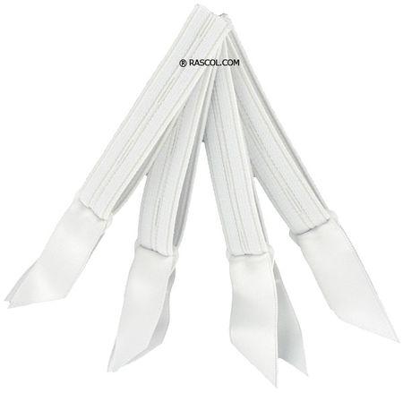 Jarretelles blanches