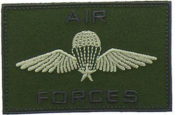 Motif air force kaki