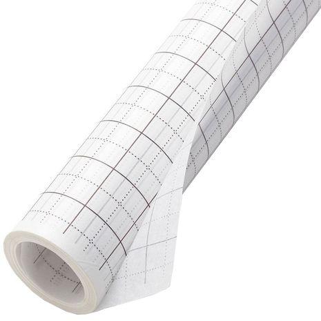Rouleau de papier de soie quadrillé pour patrons - 80 cm x 15 mètres