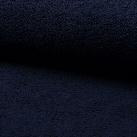 Tissu éponge - Bleu marine
