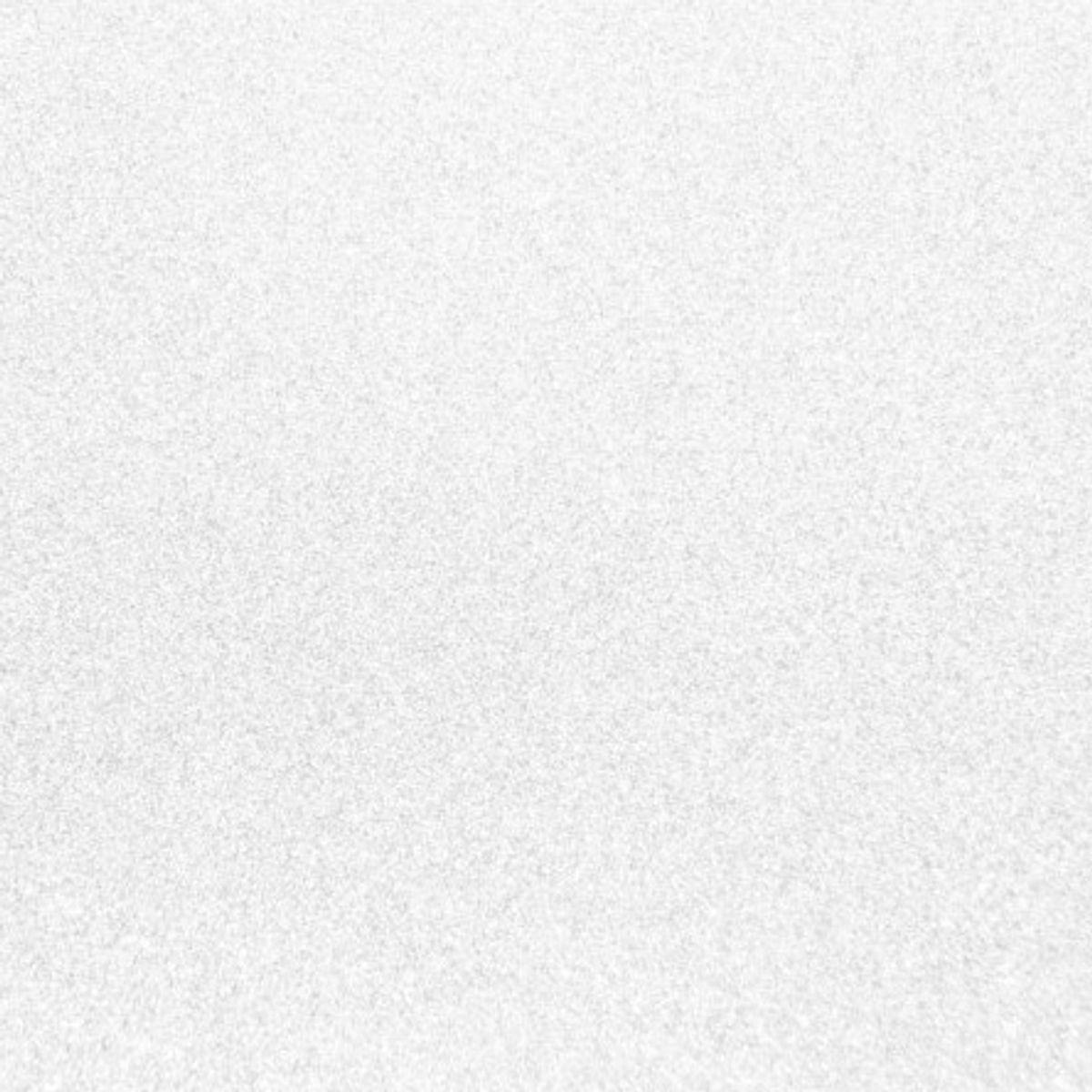 Tissu pailleté 66 x 45 cm - Blanc