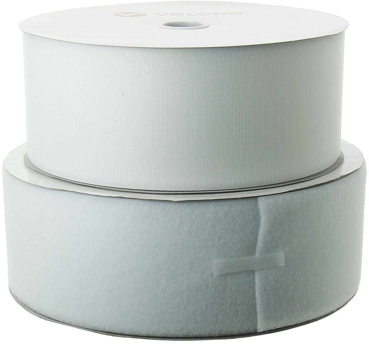 VELCRO® Brand adhésif blanc 100 mm de large rouleau de 25 mètres