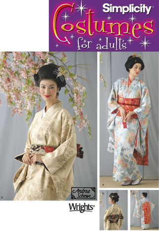 Patron de geisha - Simplicity 7303