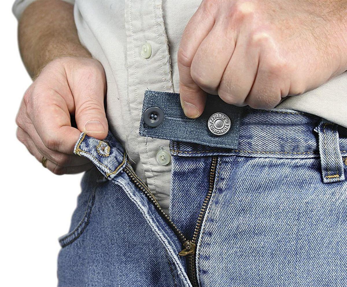Boutons rallonge en plastique Easy Fit pour jeans