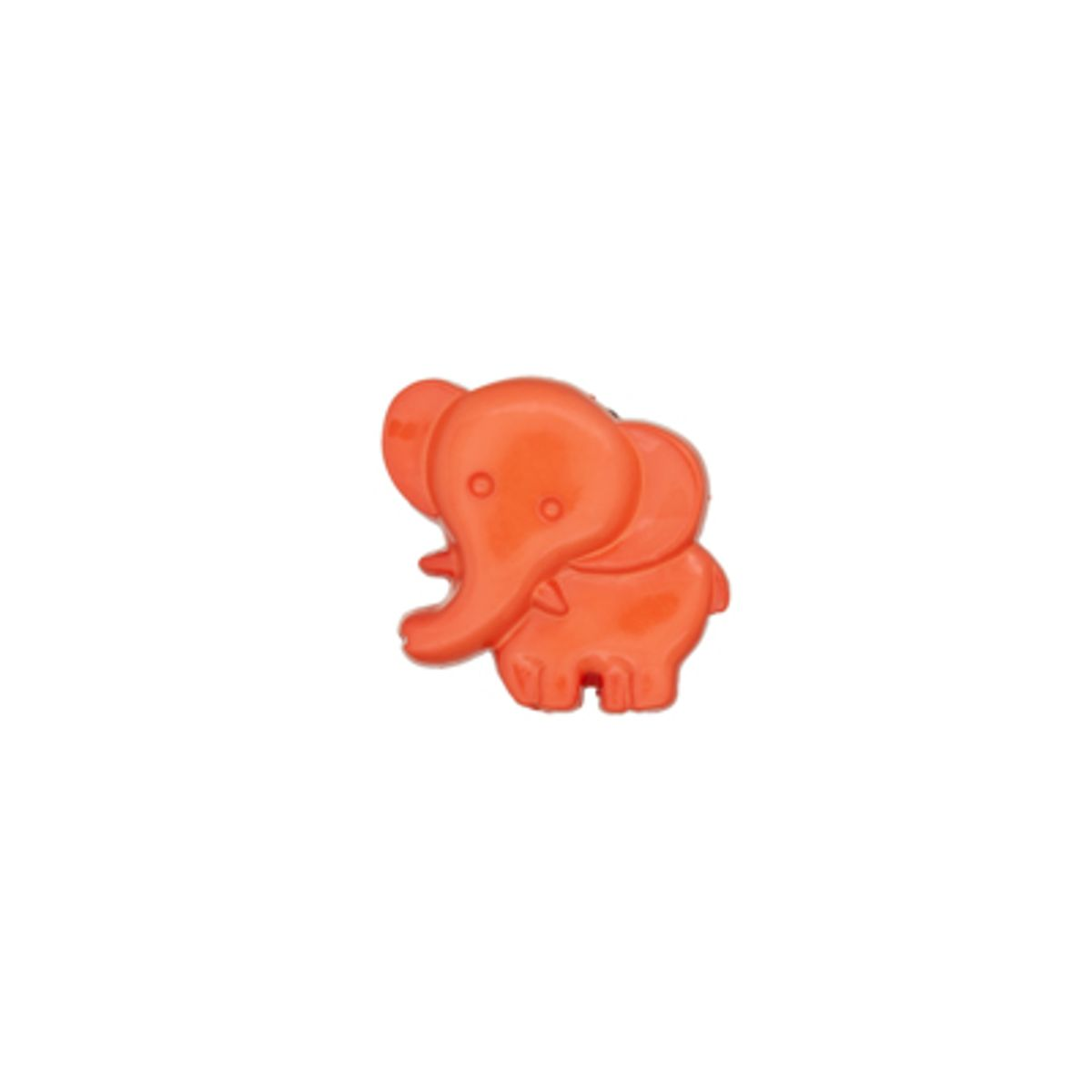 Bouton éléphant orange