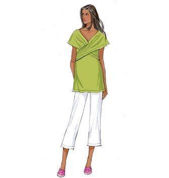 Patron de blouse Magellan - Aime Comme Marie