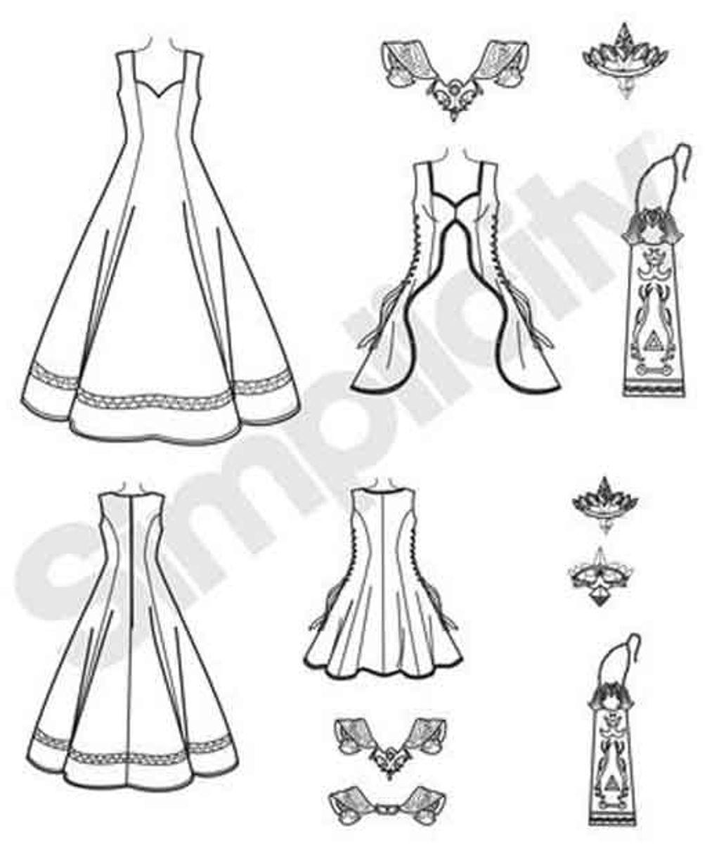 Patron de costume femme - Simplicity 7913